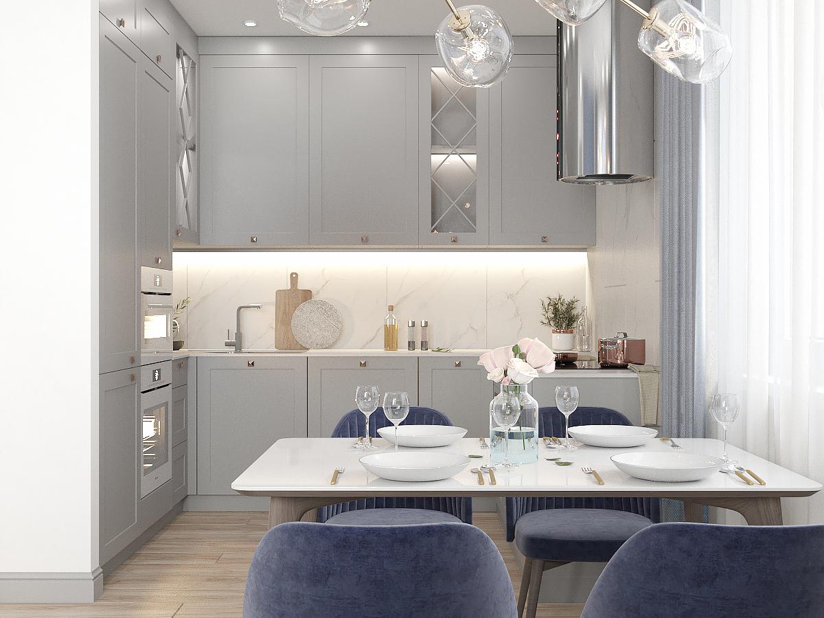 Кухня-гостиная 1