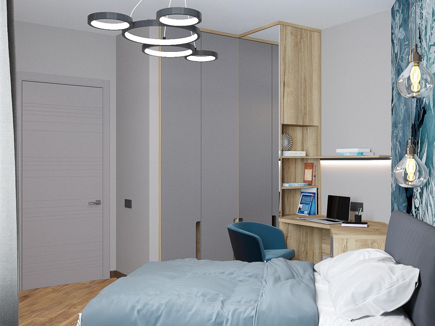 Видовой кадр гостевой спальни 3