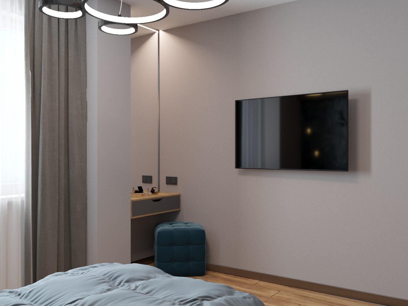 Видовой кадр гостевой спальни 4