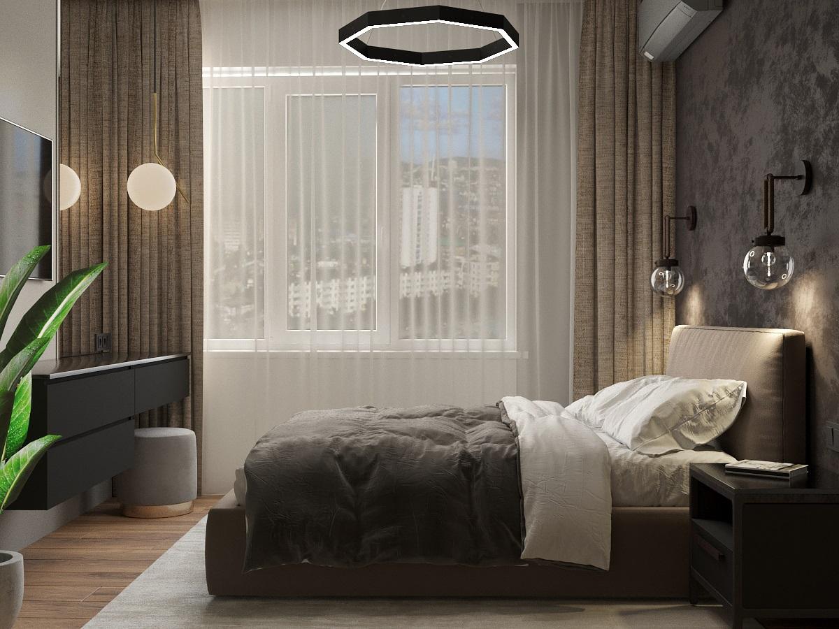 спальня вид 2