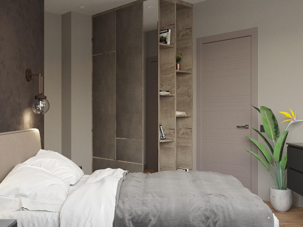 спальня вид 4